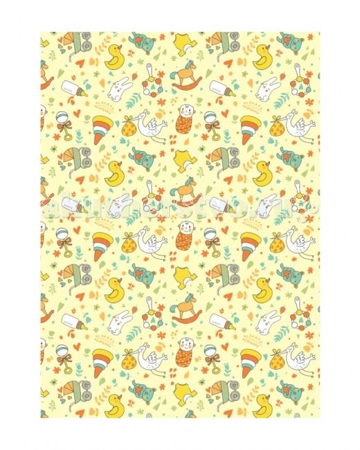 Одеяло Baby Nice (ОТК) байковое Малыш 100х118 см