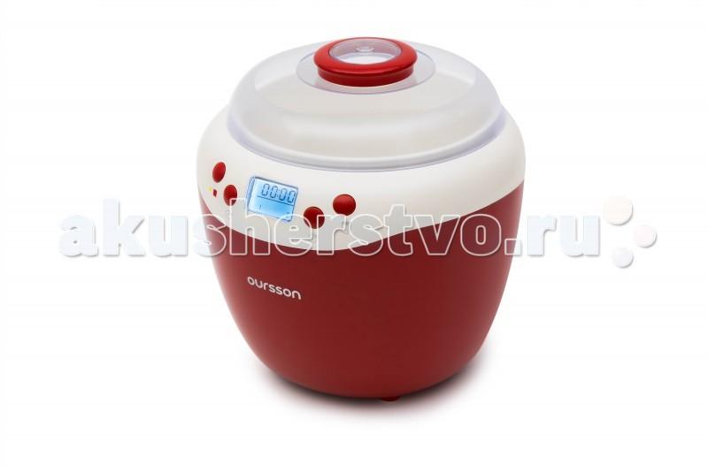 Oursson  Йогуртница-ферментатор FE2103DЙогуртница-ферментатор FE2103DБлагодаря йогуртнице FE2103D, главным преимуществом которой является большая красивая керамическая емкость объемом 2 литра с плотно закрывающейся крышкой, вы сможете приготовить полезный натуральный йогурт, дрожжевое тесто, а также различные напитки, основанные на незавершённом спиртовом брожении.   Высокопрочная керамика, которая хорошо распределяет и сохраняет, как тепло, так и холод, идеально подходит для приготовления и хранения кисломолочных продуктов. Кроме того, стоит отметить наличие в приборе индикации времени приготовления на дисплее, таймер обратного отсчета и звуковой сигнал по окончании приготовления.   Таймер приготовления  - до 48 ч. Объём ёмкостей для приготовления  - 2 л Материал емкостей  - Керамика Количество режимов  - 2 Ферментация   Дисплей   Индикация времени приготовления   Индикация режима работы   Звуковой сигнал окончания работы   Защита от перегрева    Бренд Oursson – специалист по кулинарным инновациям. Задача - сделать питание современных семей вкусным, полезным и с минимальными временными затратами. Большое внимание уделяется контролю за использованием в продукции исключительно качественных и экологичных материалов и технологий, сохраняющих здоровье потребителей и окружающую среду.<br>