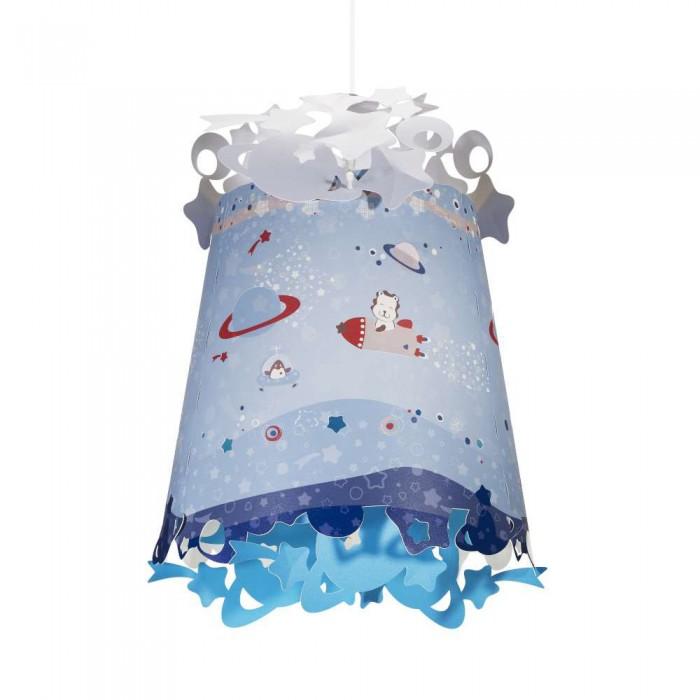 Светильник Pabobo АбажурАбажурЧудесные абажуры для лампы от французского бренда Pabobo прекрасно украсит комнату Вашего ребёнка. Маленькие рисунки и звёздочки осветят и украсят комнату Вашего ребёнка  Абажур обладает «волшебным» эффектом при смене дня и ночи: при включённом освещении становятся видны разные рисунки, и это помогает создать в комнате новую атмосферу!  Прост в использовании и очень лёгок при сборке.  Внимание! Патрон для лампочки приобретается отдельно!<br>