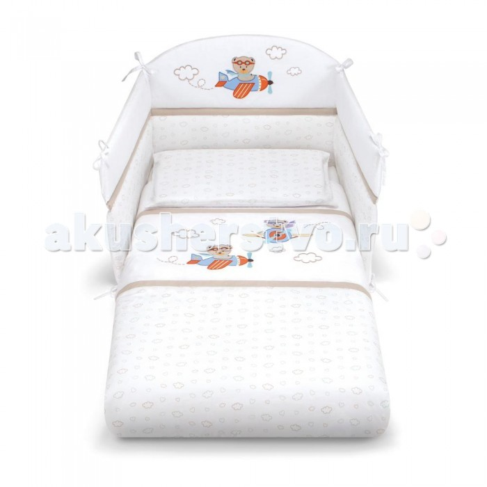 Комплект в кроватку Pali Aviatore (3 предмета)