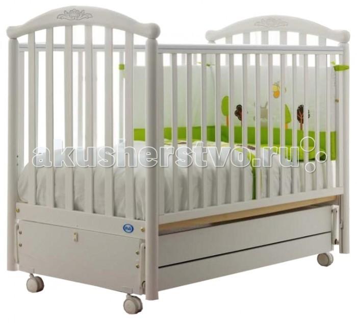 Детская кроватка Pali Giulia (продольный маятник)
