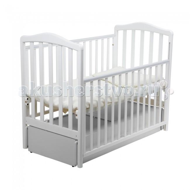 Детская кроватка Papaloni Винни маятник 120х60