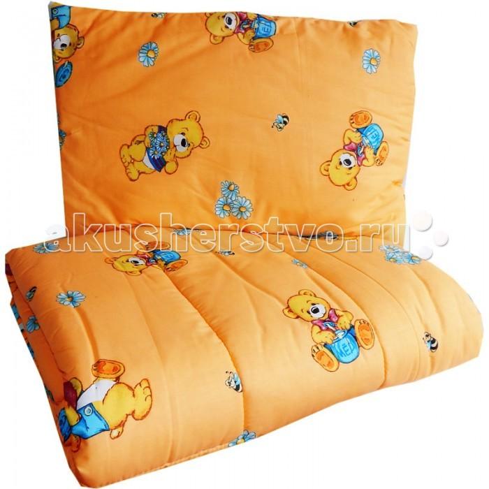 Комплект в кроватку Папитто 1111 (2 предмета)1111 (2 предмета)Набор для малыша в кроватку, состоящие из 2х предметов изготовлен из качественных, натуральных материалов.   При нанесении рисунка используются исключительно натуральные красители, поэтому детское постельное белье Папитто безопасно и гипоаллергенно.  В комплекте: - одеяло 110 х 140 - подушка 40 х 60 (синтепон)  Наполнитель: Синтепон  Цвета в ассортименте<br>