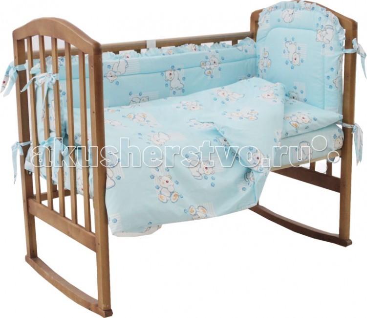 Комплект в кроватку Папитто 7010 (6 предметов)
