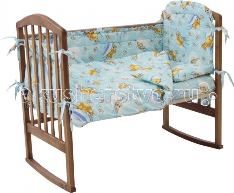 Комплект в кроватку Папитто 7011 (6 предметов)