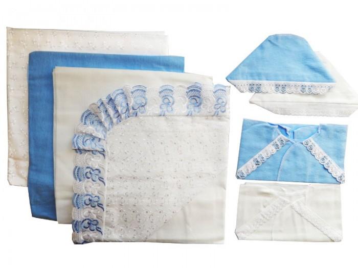 Комплект на выписку Папитто кружевной (8 предметов)