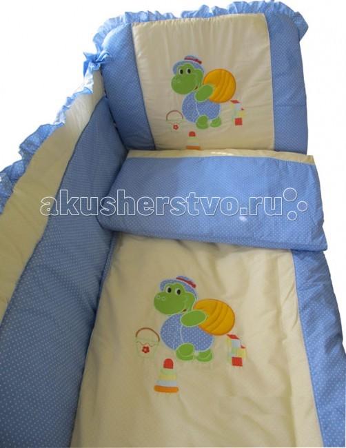 Комплект для кроватки Папитто Игрушки (7 предметов)