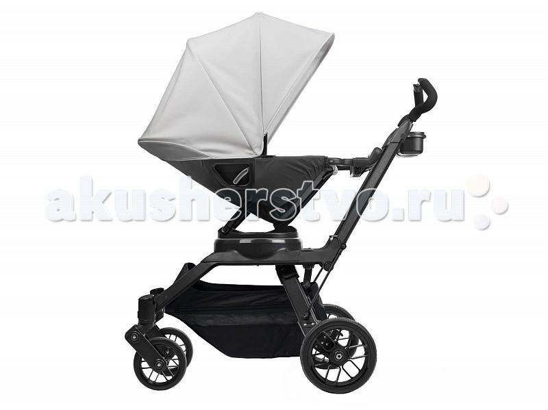 Коляска Orbit Baby G3 3 в 1G3 3 в 1Прекрасная система для путешествий, легкость в обращении, удобство хранения, путешествие с комфортом. Модернизированная версия шасси - это настоящая инновация. Колеса снабжены уникальной системой QuadShock™, которая обеспечит ребенку мягкую езду. Тормоз раздельный на каждое колесо, что позволяет удобно укачивать малыша. Люлька дает возможность малышу вздремнуть или просто отдохнуть - как дома, так и во время поездки. Эта коляска с доказанной функциональностью и комфортным техническим решением. Коляска оснащена многими практичными деталями и универсальна в использовании.  Люлька - кроватка: удобная люлька для детей с рождения до 9 кг высочайшее качество материалов дно имеет вентиляционные отверстия обивка из дышащей ткани улучшающей циркуляцию воздуха внутренняя обшивка из микрофибры, легко снимается и стирается в стиральной машине оснащена непромокаемым, дышащим матрасиком солнцезащитный капюшон из прочной, водоотталкивающей ткани, которая легко чистится.  Оснащен солнцезащитным экраном Paparazzi Shield™  для защиты от ультрафиолетовых лучей, пыли, бактерий и нежелательных взглядов можно использовать как люльку, как переноску и как полноценную колыбель накидка, закрывающая переднюю сверху часть люльки (у ног малыша) очень удобно переносить: мягкая ручка для переноски, удобные боковые ручки функция складывания до 15 см в высоту, легко складывается для перевозки, очень компактный размер в сложенном состоянии запатентованный механизм крепления SmartHub позволяет устанавливать люльку на шасси коляски Orbit Baby G1/G2/G3, подставку-качалку, адаптер для второго ребенка Helix Plus Upgrade Kit (приобретаются отдельно). Легко устанавливается, поворачивается на 360 градусов и снимается совместима с всепогодным комплектом (размер S) и конвертом (размер S) (приобретаются отдельно)  Прогулочный блок: предназначен для детей от 5 месяцев до 18 кг передовая система вентиляции, в которой используется дышащая, но при этом водонепроницаемая вставка д