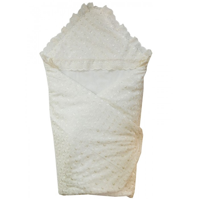 Папитто Конверт - одеяло кружевной на липучке 92х92 синтепон