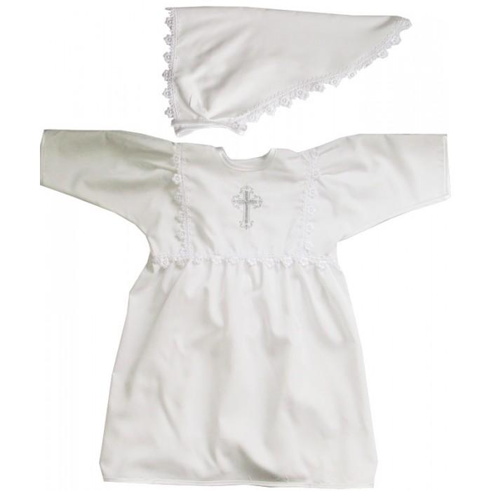 Папитто Крестильное платье для девочки с косынкойКрестильное платье для девочки с косынкойКрестильное платье для девочки Папитто с косынкой  Крестильное платье для девочки с платочком отличный выбор для наряда вашего малыша на крещение. Белоснежное платье, украшенное вышитым крестом и отделкой из кружева гипюра, смотрится привлекательно. Модель сшита из микрошелка — полотно приятно на ощупь. В комплекте идет косыночка, также украшенная нежным ажуром. Ребенок будет чувствовать себя комфортно и выглядит изящно.    В комплекте:   Крестильное платье  Косынка   Ткань: микрошелк, кружево, гипюр.  Размер: 68-74 см.<br>