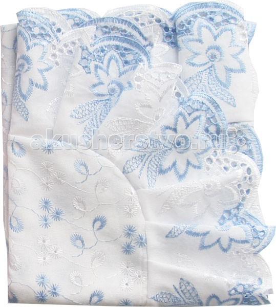Папитто Уголок кружевное полотно с шитьем