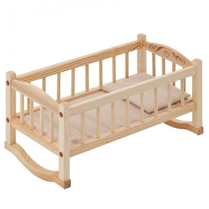 Paremo Кроватка-люлька для куклыКроватка-люлька для куклыParemo Кроватка-люлька для куклы   - Люлька-качалка предназначена для кукол высотой до 49 см - Рекомендована для девочек в возрасте старше 3 лет - Габариты кроватки: 25 х 23 х 49 см - Материалы: дерево, текстиль - В комплекте: кровать для куклы, матрас, подушка ВНИМАНИЕ! Цвет текстиля может незначительно изменяться в зависимости от партии поставки. Куклы и мягкие игрушки приобретаются отдельно! - Упаковка: прозрачный пакет - Сделано в России!<br>