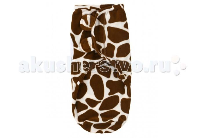 Пеленка Pecorella SwaddleFun флисовая на липучках (размер M)