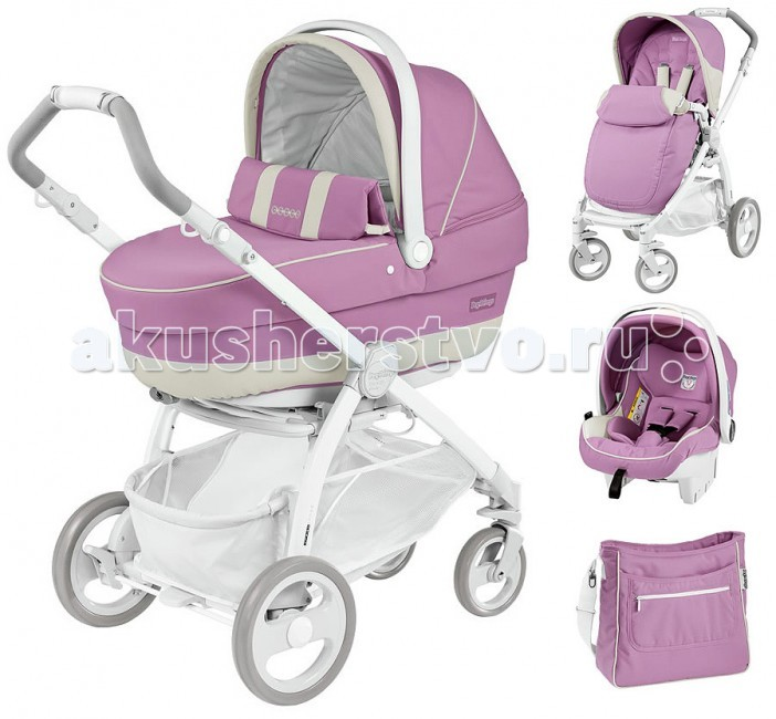 Коляска Peg-perego Book Plus Pure 3 в 1