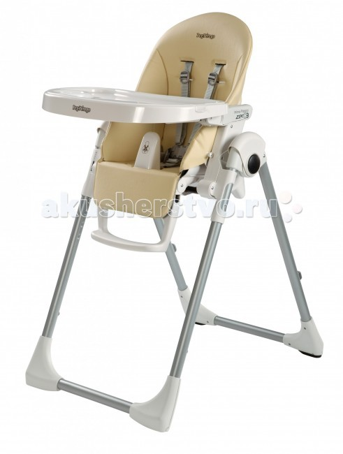 Стульчик для кормления Peg-perego Prima Pappa Zero-3Prima Pappa Zero-3Очень легкий многофункциональный стульчик Peg Perego Prima Pappa Zero-3, растет вместе с Вашим малышом от 0 до 3-х лет. Стульчик можно использовать в качестве колыбельки, а начиная с 6 месяцев как высокий стульчик для кормления и игр. Когда Ваш малыш подрастет, можно использовать стульчик без подноса, для того чтобы ребенок мог сидеть за столом вместе со взрослыми.   Характеристики: имеет 7 положений высоты наклон спинки регулируемый: 5 положений подножка регулируемая: 3 положения (только угол наклона, по высоте не регулируется) покрытие из эко-кожи или ПВХ чехол можно протирать влажной тканью двойной съемный поднос можно мыть в посудомоечной машине 5-титочечные ремни безопасности и анатомический ограничитель в области промежности сохранят Вашего ребенка в полной безопасности удобные кнопки раскрытия-складывания стульчика суперкомпактный и устойчивый в сложенном виде   Габариты: размеры в сложенном виде: 30х95,5 см размеры в разложенном виде: 75,5х104,5 см вес: 7,6 кг ширина сгиба между сиденьем и спинкой - 23-24 см глубина сиденья - 24 см ширина сиденья у перекладины - 30 см Высота спинки - 43 см расстояние между подлокотниками - 36 см длина подножки - 16 см  Расцветки из экокожи: Petrolio, Ice, Fragola, Mela, Arancia, Paloma, Licorice.<br>