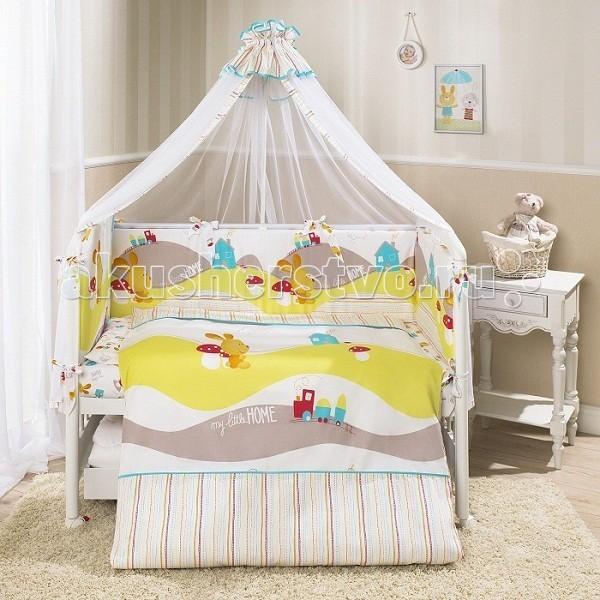 Комплект для кроватки Perina Кроха (7 предметов)