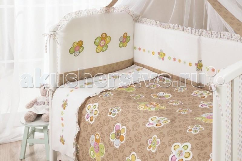 Комплект для кроватки Perina Тиффани (4 предмета)