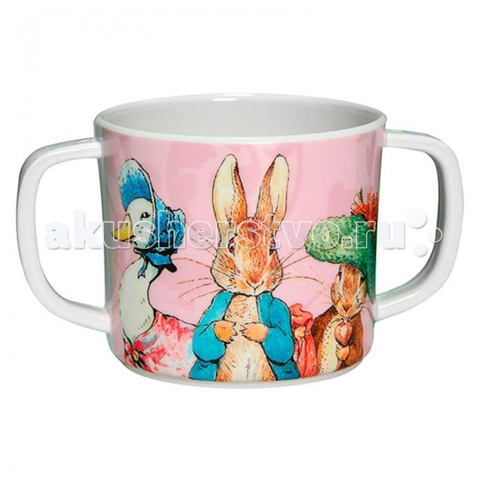 Petit Jour Кружка с двумя ручками Peter RabbitКружка с двумя ручками Peter RabbitPetit Jour Кружка Кружка с двумя ручками Peter Rabbit для самостоятельного питья.   Идеально подойдет мальчикам, благодаря своему нежно-голубому цвету.   Подходит для мытья в посудомоечной машине и не подходит для микроволновой печи и горячих напитков.  Размеры: 12x7 см<br>