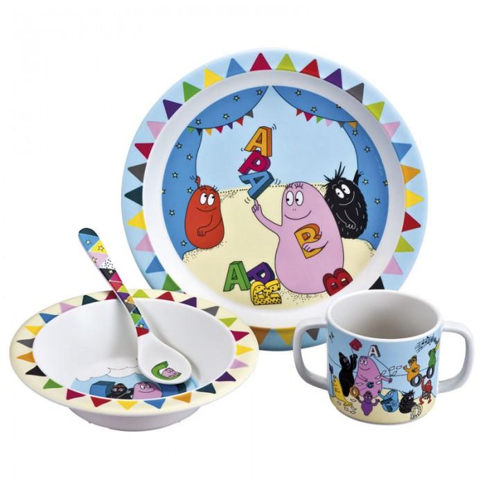 Petit Jour Набор детской посуды Barbapapa
