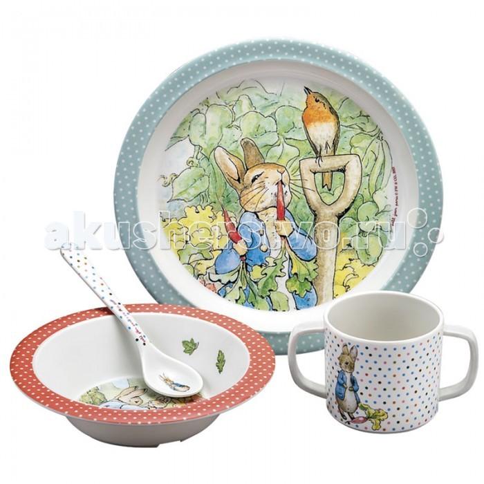 Petit Jour Набор детской посуды Peter Rabbit