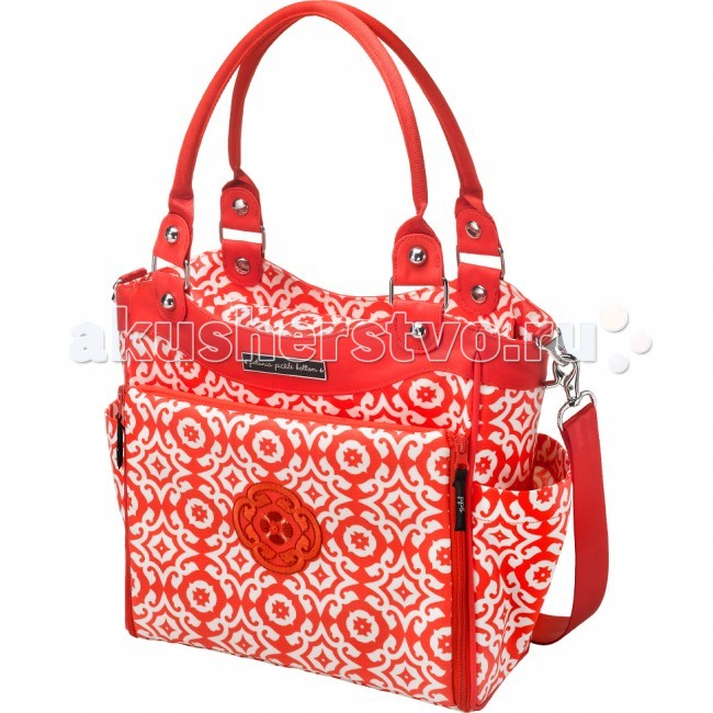 Petunia Pickle Bottom Сумка для мамы City Carryall