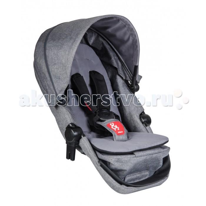 Прогулочный блок Phil&amp;Teds Дополнительное сидение VoyagerДополнительное сидение VoyagerС дополнительным сидением Ваша универсальная коляска Phil and Teds Voyager легко трансформируется в небольшую и маневренную коляску для погодков и двойни. Если предполагается прогулка с одним ребенком - просто снимите дополнительное сидение и Ваша коляска для погодков и двойни опять станет 3-х колесным универсалом.   Дополнительное сиденье легко трансформируется в люльку для новорожденного, а так же, может быть использовано в качестве переносного манежа. Снабженное собственным капюшоном и ремнями безопасности, второе сиденье очень понравится счастливым родителям двух малышей!  Характеристики: трансформируется в блок для новорожденных спинка увеличенных размеров 5-ти точечные ремни с мягкими накладками удобный регулируемый капюшон обивка с защитой от солнца и снега можно использовать в качестве переносного манежа  Размеры дополнительного сиденья (вхш): 42х35 см Нагрузка на дополнительное сиденье: 9-15 кг Вес 2.9 кг<br>