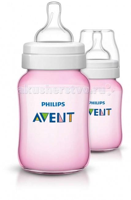 Бутылочка Philips-Avent для кормления 2 шт. 260 млдля кормления 2 шт. 260 млБутылочка Philips-Avent для кормления была улучшена: теперь кормление станет еще приятнее. Антиколиковая система, эффективность которой доказана клиническими испытаниями, теперь используется в соске, делая процесс сборки и очистки максимально простым.  Особенности: Отличается от других бутылочек: антиколиковая система, эффективность которой доказана клиническими испытаниями, теперь используется в соске, делая процесс сборки максимально простым. Во время кормления уникальный клапан на соске открывается, пропуская воздух в бутылочку, а не в животик малыша. Полноценный сон и правильное питание крайне важны для здоровья и хорошего самочувствия малыша. В ходе рандомизированного клинического исследования о том, влияет ли дизайн бутылочки для кормления грудных детей на их поведение, специалисты установили, что при использовании бутылочки Philips Avent серии Classic дети ведут себя спокойно значительно дольше — приблизительно на 28 минут в день — чем при использовании бутылочки компании-конкурента (46 мин. против 74 мин., p=0,05). Это особенно заметно в ночное время. Уникальный клапан соски сгибается в соответствии с естественным ритмом кормления малыша. Молоко поступает с той скоростью, которую выбирает малыш, что помогает уменьшить газообразование и количество срыгиваний, а также сократить риск переедания. Новая бутылочка Classic+ препятствует протеканию для еще большего удовольствия от кормления. Всего 4 детали, широкое горлышко и закругленные края позволяют быстро и тщательно очистить бутылочку. Невероятно быстрая и эффективная очистка бутылочки для вашего спокойствия. Максимально комфортное кормление благодаря уникальной форме бутылочки, которую можно держать в любом положении. Удобно даже для маленьких ручек малыша. Бутылочка Philips Avent серии Classic+ совместима с большинством изделий линейки Philips Avent. Рекомендуется использовать бутылочку серии Classic+ только с сосками серии Classic+.