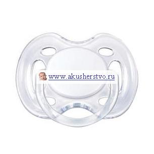 Пустышка Philips-Avent силиконовая Freeflow 0-6 мес. 1 шт.силиконовая Freeflow 0-6 мес. 1 шт.Дополнительный приток воздуха для чувствительной кожи - шесть отверстий в нагубнике обеспечивают вашему малышу дополнительный комфорт.   Ортодонтическая, симметричная съемная соска Плоские симметричные соски каплевидной формы учитывают строение и естественное развитие неба, зубов и десен малыша и гарантируют комфорт, даже если пустышка переворачивается во рту.  Силиконовая соска не обладает вкусом и запахом, что делает ее наиболее приемлемой для малыша. Силикон — это мягкий и прозрачный материал, который не липнет и легко моется. Такая соска прочна и прослужит долго, не потеряв со временем форму и цвет.  Гигиеничность Защелкивающийся защитный колпачок Можно стерилизовать Можно мыть в посудомоечной машине  Не содержит бисфенол-А. Цвета в ассортименте. К упаковке 1 шт.  Рекомендации: Мыть и кипятить пустышку перед первым использованием. Регулярно мыть в горячей мыльной воде, затем тщательно промывать чистой водой. Для выявления трещин пустышку следует всегда проверять путем вытягивания соска. Регулярно проверяйте и заменяйте пустышку в том случае, если она становится липкой, растянутой, на ней появляются трещины или возникают другие признаки износа.  Условия хранения Хранить в сухом, закрывающемся контейнере, не подвергая их воздействию прямых солнечных лучей и тепла.  Рекомендуется менять пустышку каждые 3 месяца.<br>