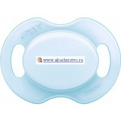 Пустышка Philips-Avent силиконовая ортодонтическая 0-6 мес.