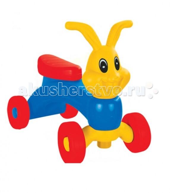 Каталка Pilsan Bunny FriendBunny FriendКаталка Pilsan Bunny Friend - порадует малышей и поможет им выучить основные цвета, а также развить координацию движений.  Каталка сделана из экологичного пластика и имеет привлекательный дизайн.   Каталка стимулирует вашего малыша к активным движениям , способствует физическому и эмоциональному развитию ребенка, развитию координации, воображения и чувства равновесия.<br>