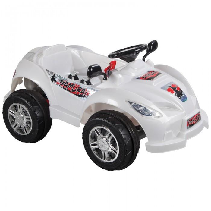 Электромобиль Pilsan SamuraiSamuraiУправляя этим автомобилем, Ваш ребенок с самого раннего детства приобретет навыки уверенного вождения. Ведь это фактически настоящий автомобиль, только маленький и безопасный.   Музыкальный сигнал (6 звуков) Аккумулятор 12V 12 Ah Колеса с бесшумным покрытием Рычаг переключения Вперед/Назад Удобное сидение со спинкой и ремнем безопасности Двигатель 2X12V  Для детей от 3-7 лет  Зеркала заднего вида Наличие плавкого предохранителя Педаль газа/тормоза Передние фары  Контрольная панель Умная система ключей (с подсветкой) Система амортизации Максимальная скорость 3.5-7 км/ч Максимальная грузоподъемность 25 кг  Цвета в ассортименте.   Размер машинки - 64х110х54 см.  Компания Pilsan начала свою историю в 1942 году. Сегодня – это компания-гигант индустрии крупногабаритных детских игрушек, которая экспортирует свою продукцию в 57 стран мира. Компанией выпускается 146 наименований продукции – аккумуляторные и педальные автомобили, велосипеды, развивающие игрушки и аксессуары для детей. Вся продукция Pilsan сертифицирована и отвечает международным стандартам качества.<br>