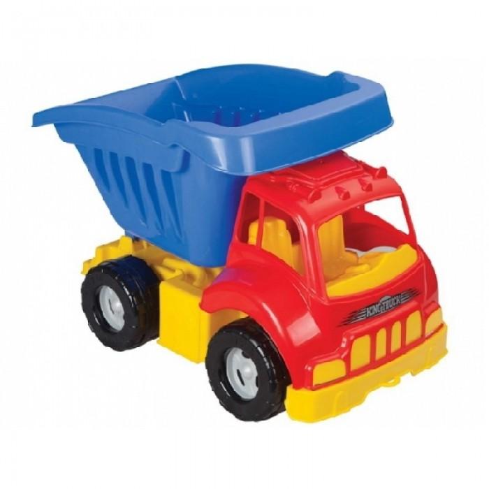 Pilsan Грузовик KingГрузовик KingPilsan Грузовик King - яркий, разноцветный грузовик, придется по душе многим маленьким мастерам.   Красочная машинка достаточно крупная по размерам подойдет для игр как дома, так и на улице.  Самые маленькие гонщики, даже могут почувствовать себя настоящими водителями грузовика и прокатиться на нём! Он выдерживает вес до 4 кг. Так же в нем можно перевозить песок, гальку или предметы.<br>