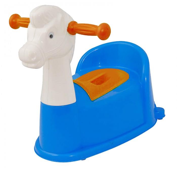Горшок Pilsan Horse музыкальныйHorse музыкальныйМузыкальный горшок Pilsan предназначен для детей от 1 до 3 лет.  Представляет собой горшок в форме лошадки с музыкальной панелью, мягким сидением, небольшим контейнером, закрывающемся крышкой и ручками для держания.  На голове лошадки расположена кнопка, нажав на которую ребенок услышит забавные звуки (5 мелодий). Ваш малыш с удовольствием будет привыкать использовать данный горшочек.  Максимальная нагрузка 12 кг.  Среди огромного количества детских игрушек выгодно отличается продукция турецкой компании Pilsan, которая является лидером в производстве крупногабаритных игрушек для детей разных возрастов. Продукцию компании Pilsan характеризует высокое качество, недаром лозунг компании звучит как «Quality in Toys» - «Качество в игрушках». Продуманный дизайн, тестирование, обеспечение контроля на всех стадиях производства подтверждает слоган компании. Все игрушки, производимые компанией Pilsan, отличаются высоким качеством, безопасны, не содержат вредных материалов и красителей, для производства используется экологически чистый пластик<br>