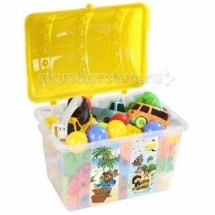 Pilsan Контейнер для игрушек СундукКонтейнер для игрушек СундукКонтейнер для игрушек Pilsan Сундук  Развивает привычку ребенка к чистоте и аккуратности.   Легкий, прочный и портативный.   Размеры: 51х40х38 см<br>