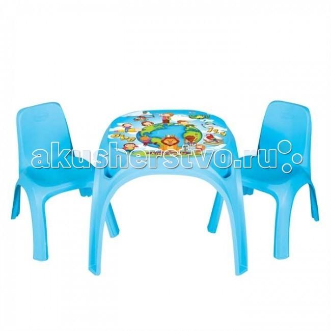 Pilsan Набор стол + 2 стула King