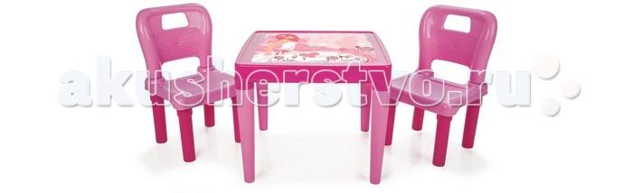 Pilsan Набор Стол и 2 стула Menekse & Hobby
