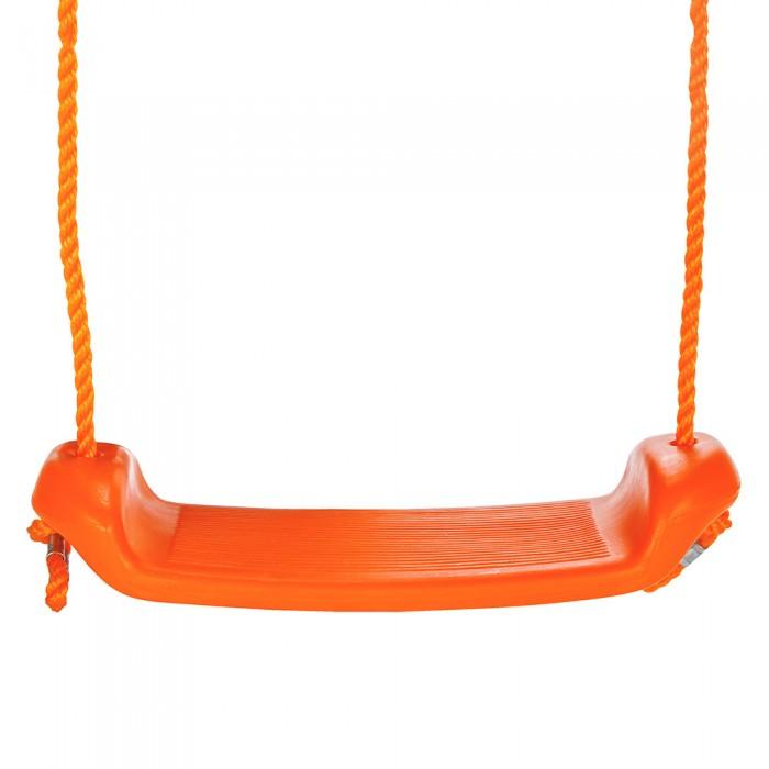 Качели Pilsan подвесные Garden Swingподвесные Garden SwingПодвесные качели Garden Swing от компании Pilsan сделаны из пластика высокой прочности.   Качели выполнены в виде широкой перекладины, к которой прикреплен трос.   Синтетические канаты диаметром в 1 см прочные и надежные и позволяют вешать качели в любом удобном месте.   Модель имеет удобное мягкое сидение.   Качели изготовлены с расчетом максимально безопасного диапазона раскачивания.   Максимальная нагрузка, которую выдерживают качели - 35 кг.  Размер 16х41 см.<br>