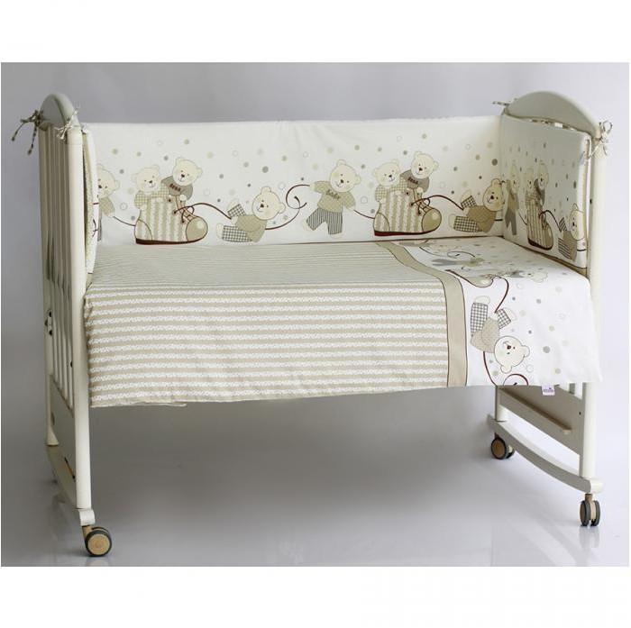 Бампер для кроватки Pituso МишкиМишкиБампер для кроватки Pituso Мишки не только придаст кроватке дополнительный уют, но и защитит Вашего малыша от сквозняков.  Материалы и краски постельного белья отвечают всем экологическим нормам и абсолютно безвредны для здоровья ребенка.  Особенности: Бортик в стандартную кроватку 120х60, четыре части Сьемный чехол (застежка молния)<br>