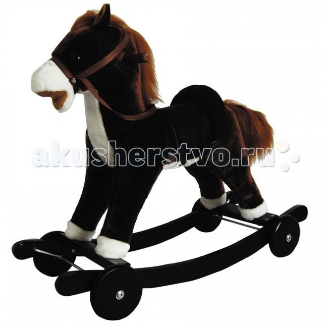 Качалка Pituso Panadero Пони с колесамиPanadero Пони с колесамиДетская качалка-пони Yoyo Rock с колесами - очаровательная игрушка для малышей, которая позволит им почувствовать себя настоящими спортсменами. Игрушка имеет мягкую плюшевую шерстку, удобное седло , которые позволят максимально комфортно чувствовать себя малышу.  Характеристики: Шевелит ртом и хвостом Звуковое сопровождение – ржание и цокот копыт Игрушка работает от 3 батареек типа АА (в комплект не входят) Мягкая шерстка из плюша Длинная грива и хвост с длинным ворсом Удобное седло, сбруя Прочная конструкция из натурального дерева Гипоаллергенные материалы Ограничители на полозьях, защищают от случайного переворачивания Удобные ручки из натурального дерева для седока Имеются колесики, которые при желании можно снять  Размер: 74х30х62 см<br>