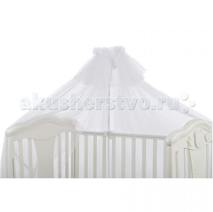 Балдахин для кроватки Pituso универсальныйуниверсальныйБалдахин для кроватки Pituso универсальный украсит спальню ребенка и оградит его от назойливых насекомых, и сон ребенка будет сладок. Отличается нежным и воздушным дизайном, превосходным внешним видом.  Особенности: легко монтируется на любом креплении защитит малыша от насекомых, ветра и яркого света полностью безопасен и гипоаллергенен стирается в щадящем режиме  Материалы: сетка, хлопок.<br>