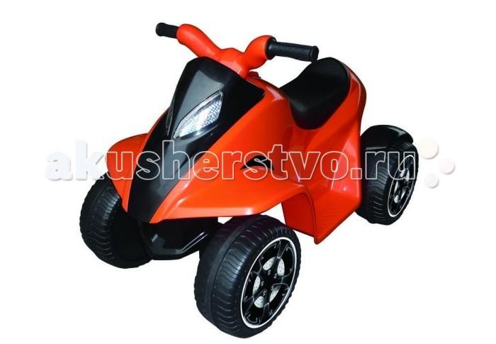 Электромобиль Пламенный мотор Квадроцикл 9502Квадроцикл 9502Пламенный мотор Квадроцикл 95022/95023/95024 предназначена для детей от 3 до 5 лет. На такой машине юный водитель почувствует себя уверенно и получит массу удовольствия от прогулки.  Управление квадроциклом способствует развитию крупной и мелкой моторики, влияет на координацию движений, учит ориентироваться на местности, принимать осмысленные решения.  Характеристики:  Размер автомобиля: 76,5 Х 44,6 Х 51,2 см Двигатель: 6V Аккумулятор: 6V,4AH Аккумуляторы заряжаются 10 часов Время работы квадроцикла около 1 часа Возможная скорость: 2-3 км/ч Грузоподъемность: 20 кг.<br>