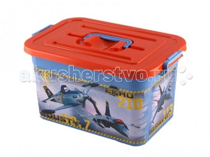 Полимербыт Ящик для игрушек 10л Disney