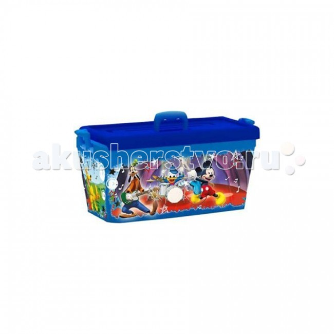 Полимербыт Ящик для игрушек 15л Disney