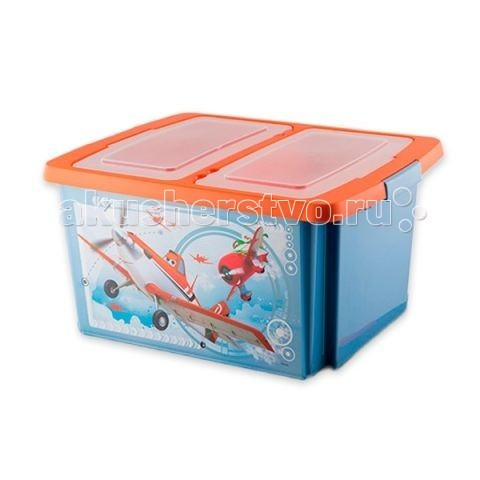 Полимербыт Disney Ящик для игрушек 30 л