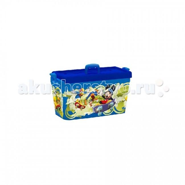 Полимербыт Ящик для игрушек 6.5л Disney