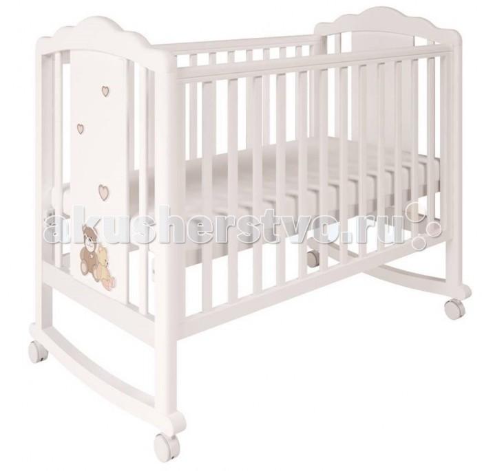 Детская кроватка Polini Classic 621 Плюшевые Мишки