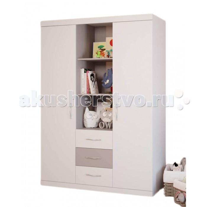 Шкаф Polini Classic трехсеционный
