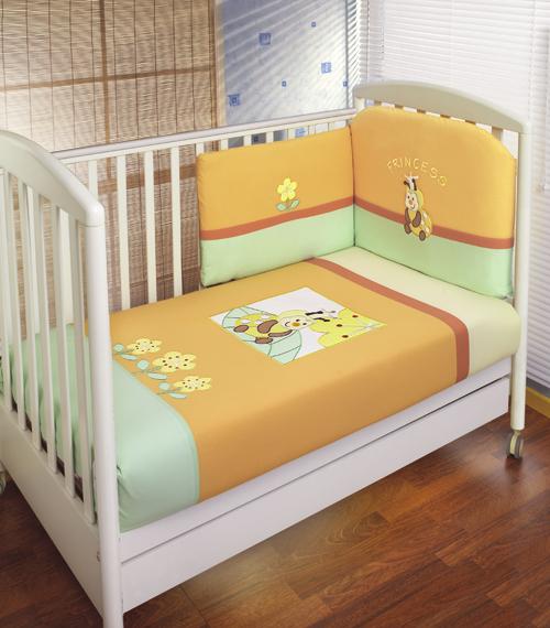 Комплект для кроватки Feretti Princess Sestetto (6 предметов)