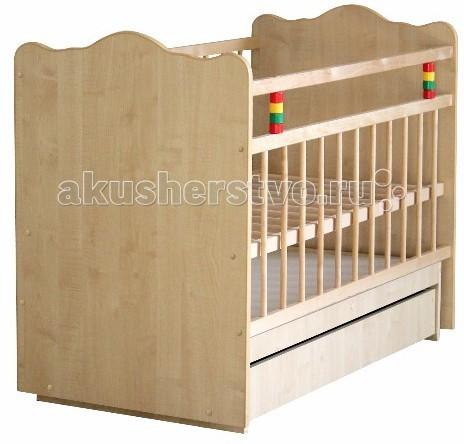 Детская кроватка Промтекс Колибри Классик 5 (маятник поперечный)