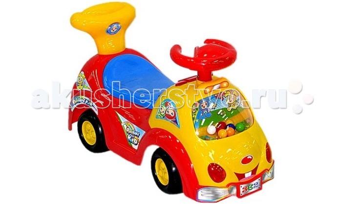 Каталка Rich Toys Chilokbo 362ВChilokbo 362ВКаталка Rich Toys Chilokbo 362В с багажником под сиденьем, удобным и очень комфортным посадочным местом, толкателем для крохи, с помощью которого он сможет учиться ходить.   Особенности: Изготовлена каталка из качественных, нетоксичных и безопасных для вашего ребенка материалов.  Поспособствует развитию у малыша воображения, пространственному восприятию, физическому и эмоциональному развитию.<br>